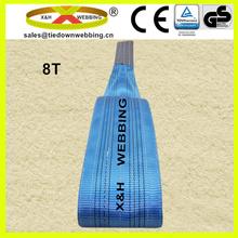 8T flat webbing lifting sling