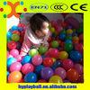 Soft Plastic Multi-colored Play ball pit balls Crush-proof