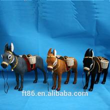 custom factory directly hot selling popular plastic figurine donkey ornament