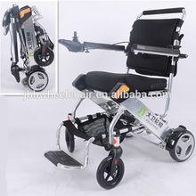 Folding simple electric wheelchair factory Nanjing Jin Bai He Company