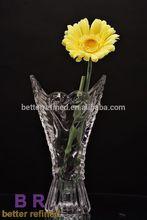 Clear Acrylic Glass Vase