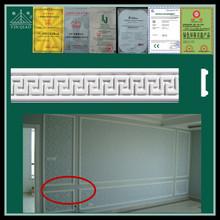Fireproof building interior decorative gypsum plaster window frame