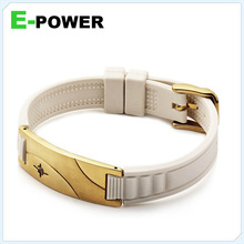 2014 hot new China manufacture silicon wristband usb flash memory, silicon ion sport bracelet