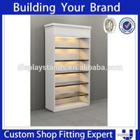 Functional design wood display ladder