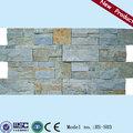 Hs-s03 interior rústico betão pedra ardósia painéis de parede