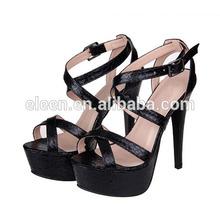 Latest fashion women high heel sandals summer 2014