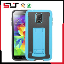 Newest 2014 combo armor rugged tpu pc case for s5