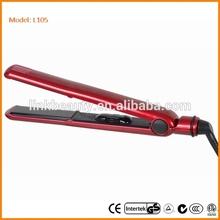 Coin Operated hair flat iron zebra hair straightening iso hair straightener