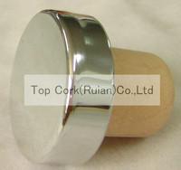 plated aluminium cap bottle stopper TBE20.3-33.5-20.7-18.8-8.4g