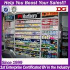Eletronic acrylic display cigarettes shelf for sale