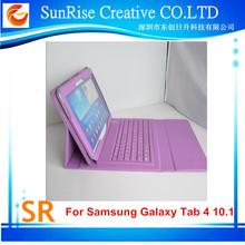 Ultra-thin Portfolio Bluetooth Keyboard Case For Samsung Galaxy Tab 4 10.1 T530 T531
