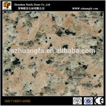 Shenzhen Sandblasted 1.8cm 600x600mm Pink Granite Floor