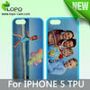 Sublimation TPU Phone Case for iPhone 5