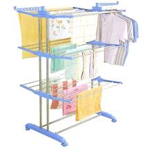 JP-CR300W3 Fashion Floor Standing Portable Garment Rack