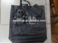 polyester foldable Koala shaped shopping bag