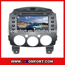K140704 2DIN CAR DVD FOR MAZDA 2
