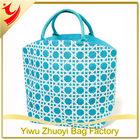 Promotional Burlap Jute Large Tote Bag for Market Shopping