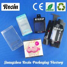 Custom Printed Blister Packaging Folding Plastic Clear PVC Box