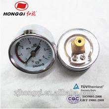 """oil pressure gauge 40mm 1.5"""" electroplating case,plating connectors manometer"""