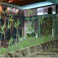 outro plástico materiais de construção tipo acrílico decorativo do painel de parede