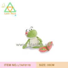 Girl Plush Frog Toys