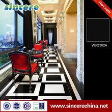 Super white,Super black porcellanato tile in Turkey
