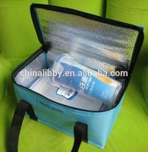 Customized reusable Aluminum Foil Bottle Cooler Bag