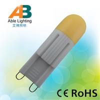 soft silicone cap 2w 14mm ceramic 130lm 2700k mini lamp g9 led bulbs