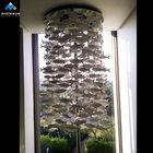 big modern ceramic chandelier