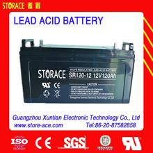 12V Lead Acid Battery 12V 120ah (SR120-12)