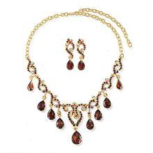 2014 New style jewelry set rhinestone conch charms jewelry set