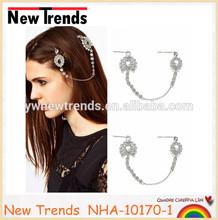 Hair chain princess crystal hair accessories chain