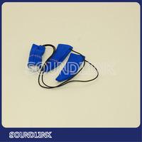 Ear hearing amplifier hearing aid protector