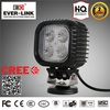 Hot Sale Car LED Work Light CE Rohs Approved IP67 DC 10-30V hid moto bi xenon with metal base bulbs