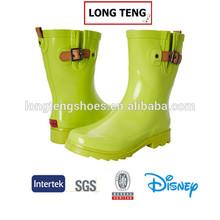 women girls clear jelly rain boots factory