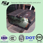 Tempered Safety Auto Glass for Car Windshield ,Window glass ,backlite ,roof glass