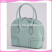 china new product fashion handbag cow leather branded handbag