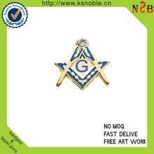 Custom masonic no minimum lapel pins