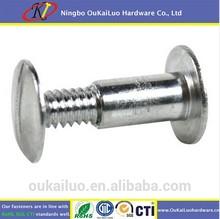 Decorative Male and female screw fasteners