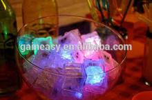 Food Grade Flashing LED Multi-Color Freezable Ice Cubes / Rocks