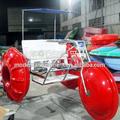 moderno parque de diversões passeios de água triciclo para venda