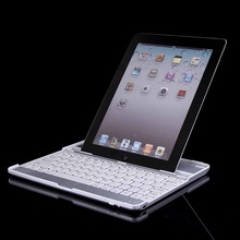Wireless Bluetooth Magnetic Keyboard Aluminum Stand Case Cover For iPad 2 3 4