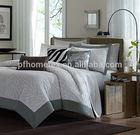 100% polyester brushed Duvet Cover Set in Grey
