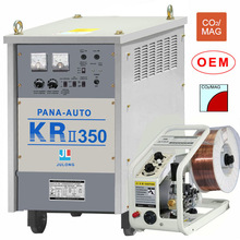 co2 mig welder with thyristor control KR-350 panasonic MIG protection welding gloves