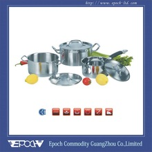 6pcs set vegetable shaped cookware