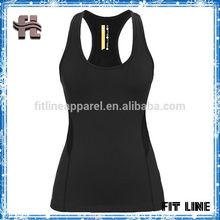 womens racer back sports tank top,T back blank fitness gym siglets