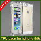 TPU Soft transparent Cover Clear Gel Skin Case Accessories For Apple iPhone 5 / 5S