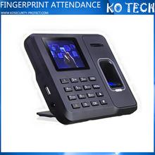 KO-M6 Fingerprint scanner time clock calculator attendance management system