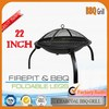 High quality easy to carry portable fire pit camping