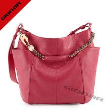 stylish latest famous brand manufacture elegant ladies red handbags